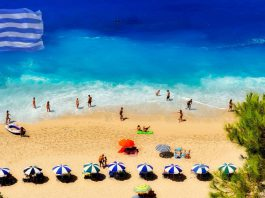 Grecja piękna plaża