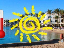 Tunezja temperatury
