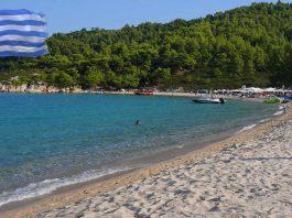 Chalkidiki plaża Platanisi