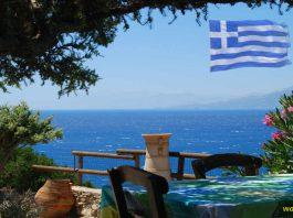 Kreta tawerna z pięknym widokiem